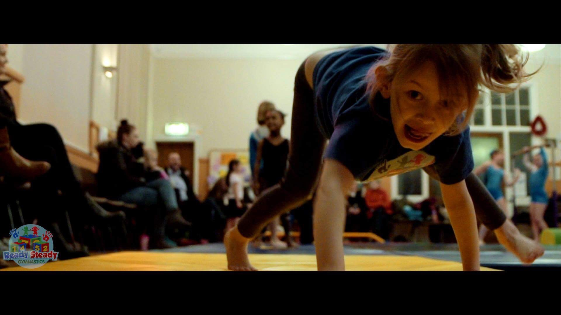 Gymnast Performing at Ready Steady Gymnastics